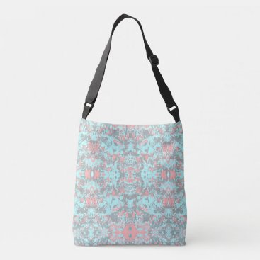 Abstrack Exclusive Mint Pattern Crossbody Bag