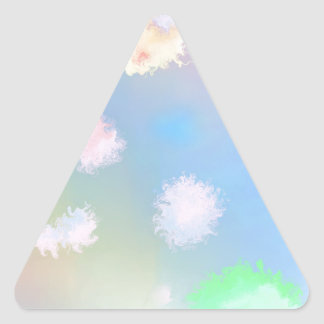 abstract01 triangle sticker