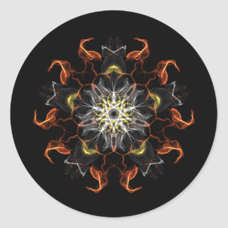 abstract1.png classic round sticker