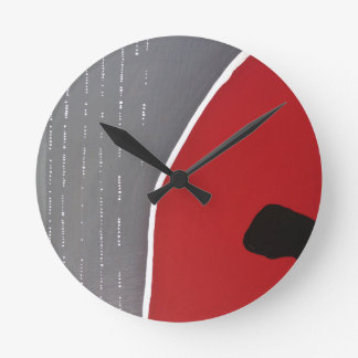 Abstract1 Round Clock