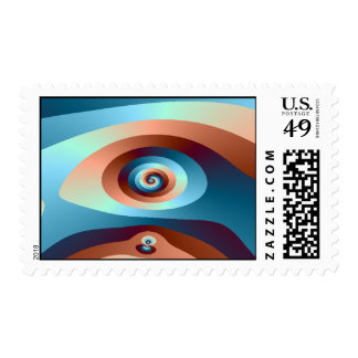 abstract2 postage stamp