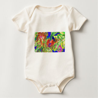 abstract8 baby bodysuit