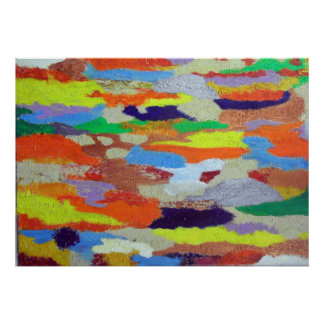 Abstract 01–carpet painting poster