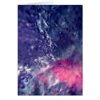 Abstract 02 / Aqua Vitae I Card