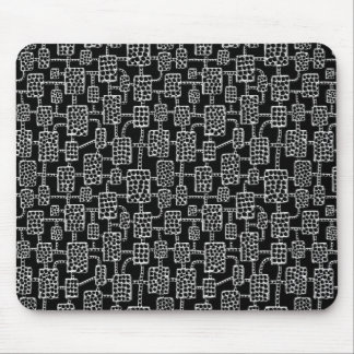 Abstract 041113 - Quick Silver Mouse Pad