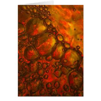 Abstract 05 / Aqua Vitae IV Card