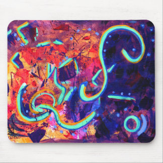 Abstract 0601 mouse pad