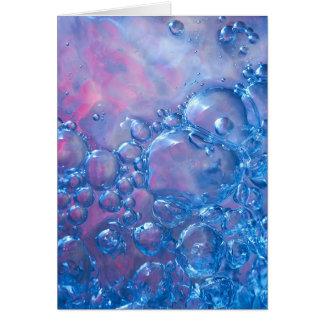 Abstract 06 / Aqua Vitae V Card