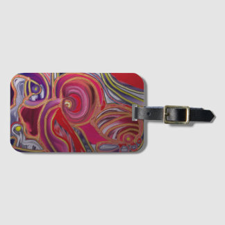 Abstract 101 luggage tag