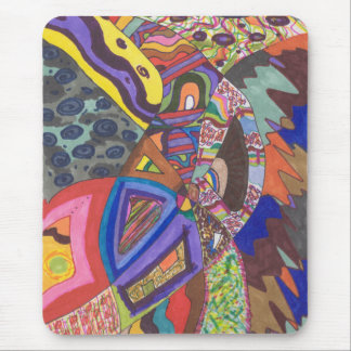 Abstract 109, original fine art mouse pads