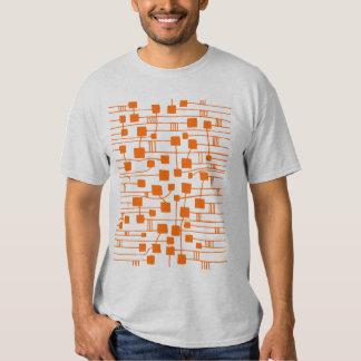 Abstract 111211 - Orange Tee Shirt