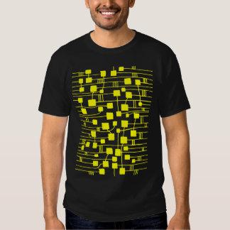 Abstract 111211 - Yellow T-shirt