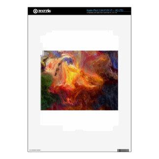abstract-125-colors iPad 3 pegatinas skins