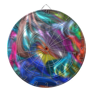 abstract 12, colorful dart board