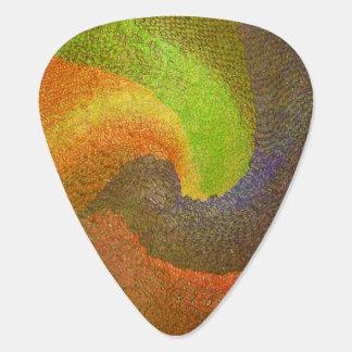 Abstract 12 - Guitar Pic Guitar Pick