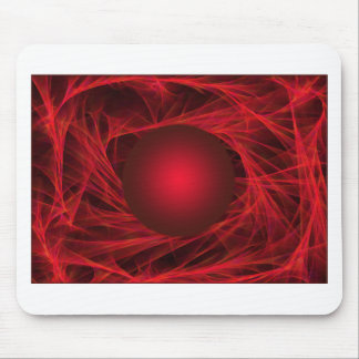 abstract-12red-ball mouse pad