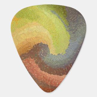 Abstract 13B - Guitar Pic Guitar Pick
