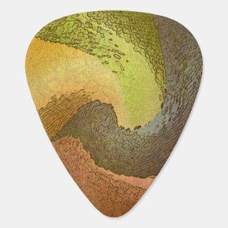 Abstract 14 - Guitar Pic Guitar Pick