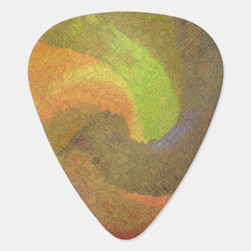 Abstract 15 - Guitar Pic Guitar Pick