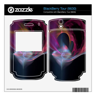Abstract 17 BlackBerry decal
