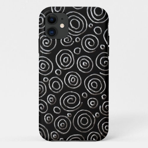 Abstract 181112 - Exotic Metal Phone Case