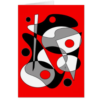 Abstract #184 card