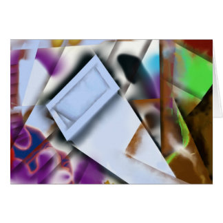 Abstract 19 - Getting into Shape Card