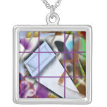 Abstract 19 - Getting into Shape Personalized Necklace