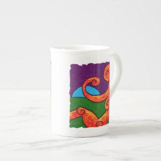 Abstract 1-6-10 Bone China Mug
