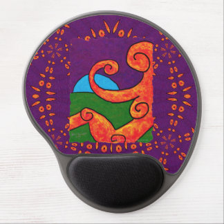 Abstract 1-6-10 gel mouse pad