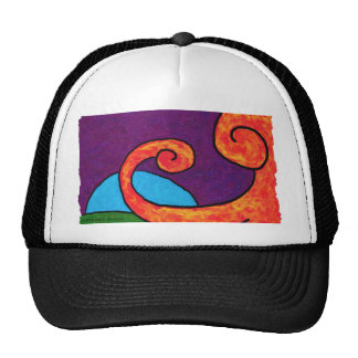 Abstract 1-6-10 Hat