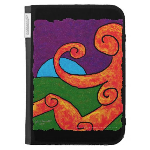 Abstract 1-6-10 Kindle Folio Case