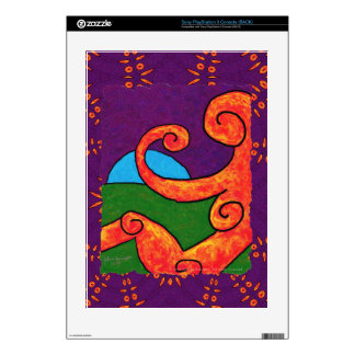 Abstract 1-6-10 Sony PlayStation 3 Skin PS3 Decals