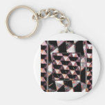 abstract 1 keychain