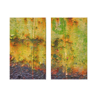 Abstract 1 Rust Gallery Wrap Canvas