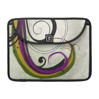 Abstract #1 sleeve for MacBook pro