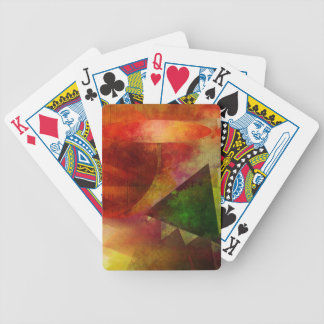 abstract 2017001 bicycle playing cards