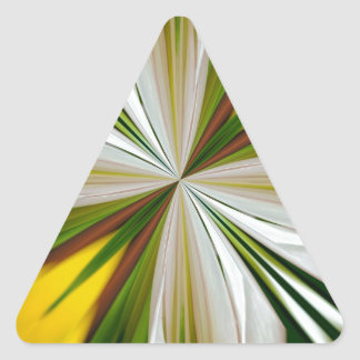 Abstract 296 triangle sticker