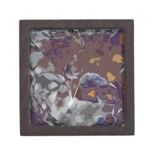 abstract 2 keepsake box