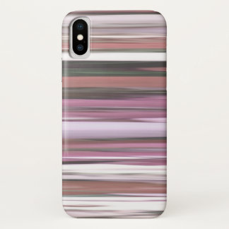 Abstract #2: Pink blur iPhone X Case