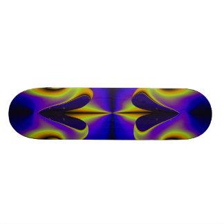 Abstract 2 Rainbow Heart Skateboard Deck
