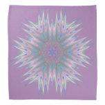 Abstract 336 A Pastel Kaleidoscope Bandana at Zazzle