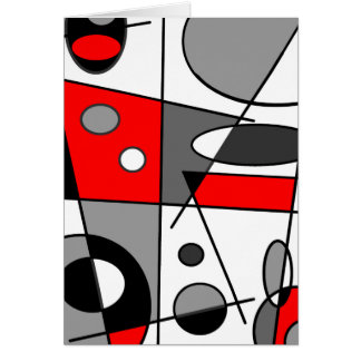 Abstract #35 card
