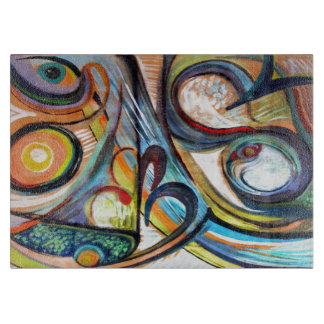 abstract 38 cutting boards