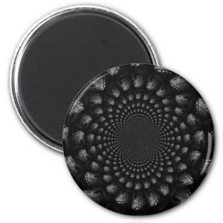 abstract 3 2 inch round magnet