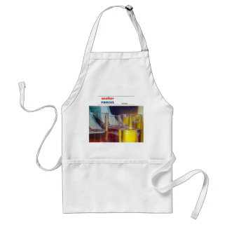 Abstract 3 adult apron