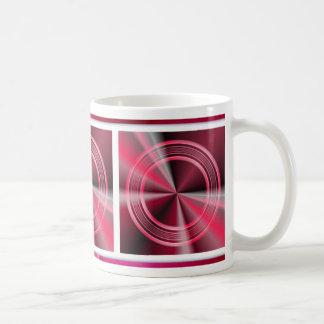 Abstract 3-d Circles Coffee Mug
