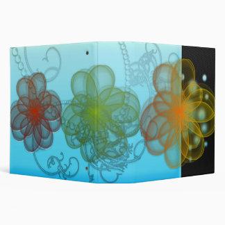 abstract 3 ring binder