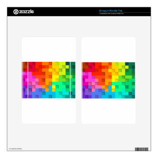 abstract #3 skins for kindle fire