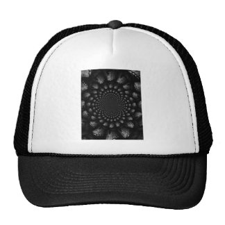 abstract 3 trucker hat